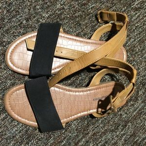 Shoes - Summer Ankle Strap Flats